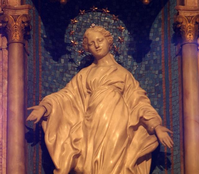 Virgen de la Sonrisa de Santa Teresita